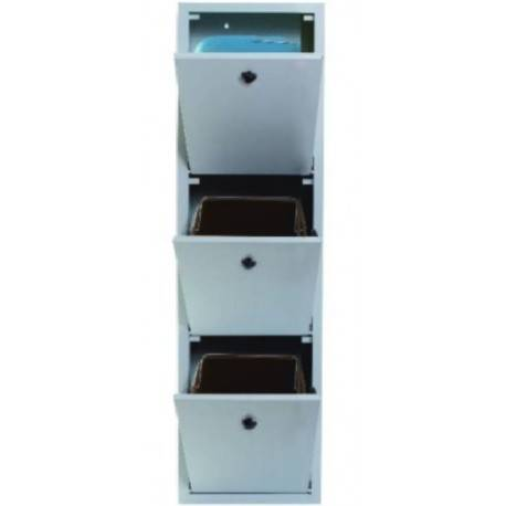 DULAP RECICLARE 3 COSURI IT 330x290x1470H mm